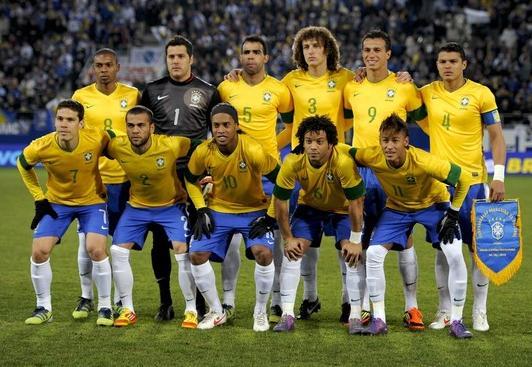 ブラジル代表4月28日